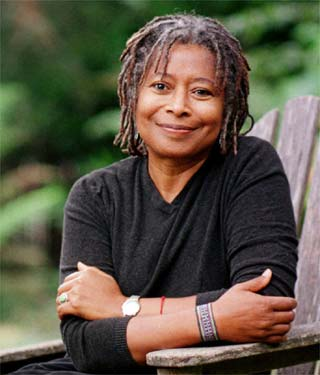 Alice Walker, author Color Purple
